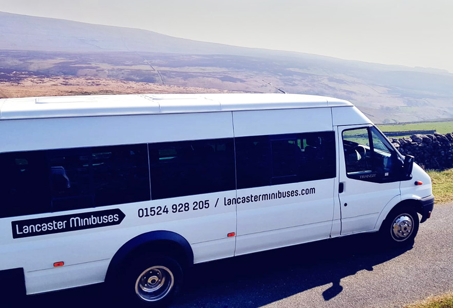 16 seater Lancaster Minibuses minibus – The perfect transport option for all of your day trips around the UK